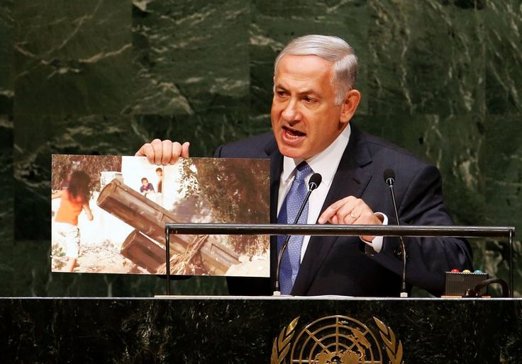 The following is the text of the speech that Prime Minister Netanyahu gave to the UN on September 29 2014.