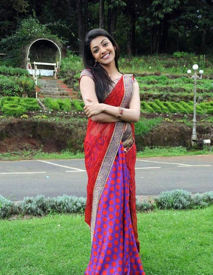 Kajal Aggarwal in saree | Veethi
