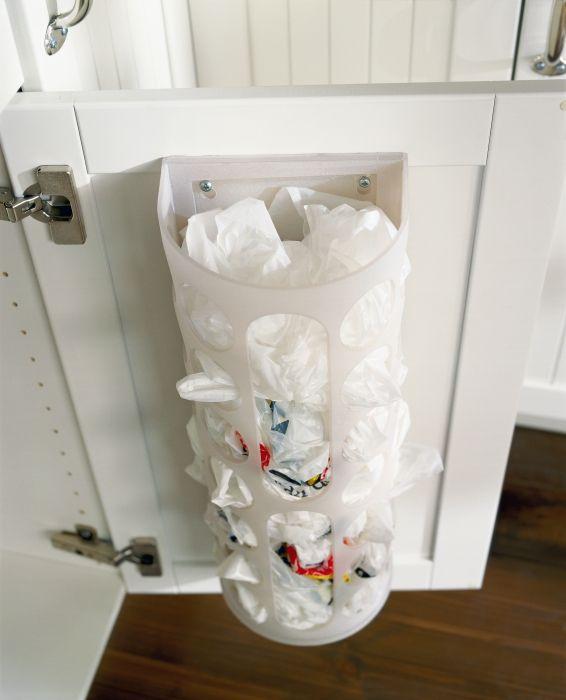 VARIERA alleshouder | #IKEA #DagRommel #keuken #opberger #tasjes #keukenkastje