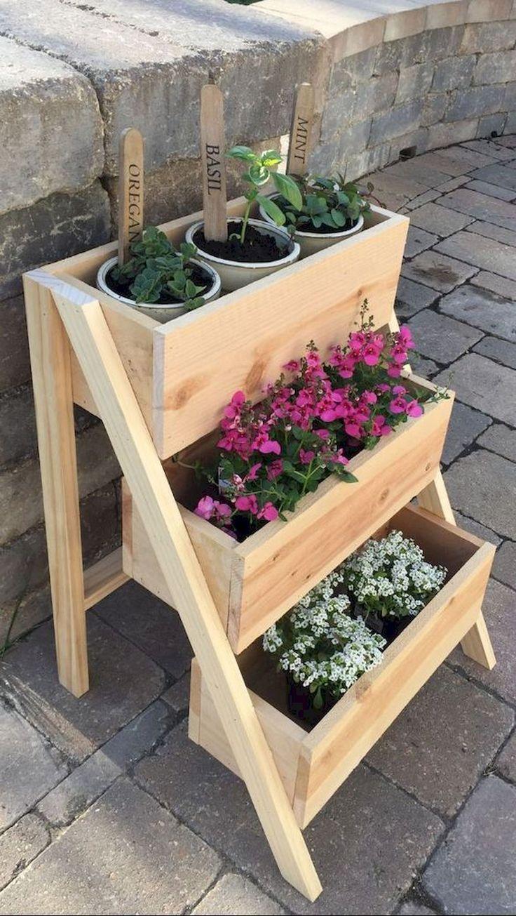 50 Inspiring DIY Projects Pallet Garden Design Ideas | Backyard ...