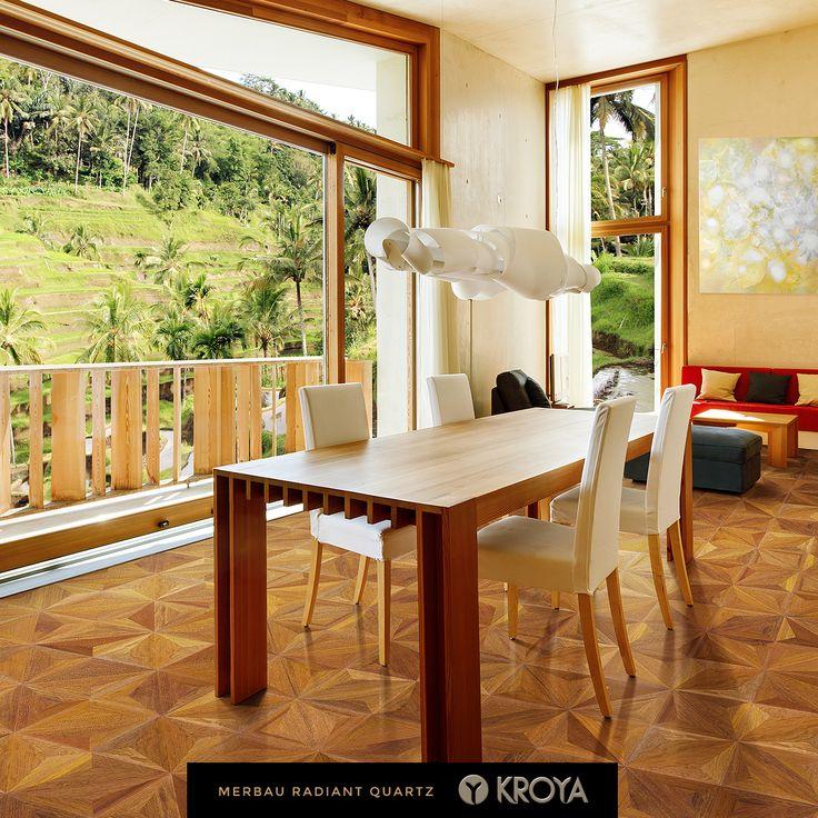 KROYA Merbau Radiant Quartz  http://www.kroyafloors.com/collections/design-parquet/merbau-radiant-quartz/