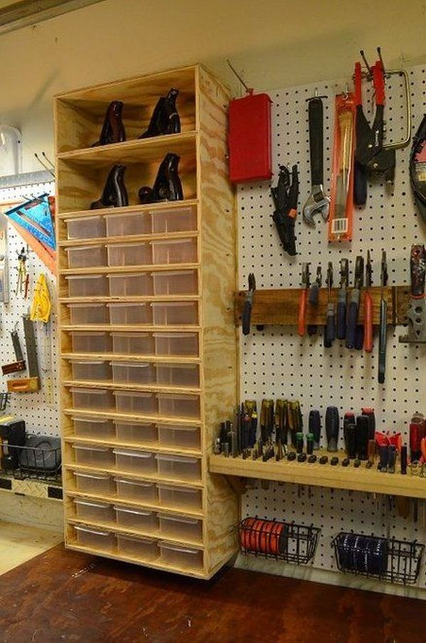 tool organizer with easy access - fold away