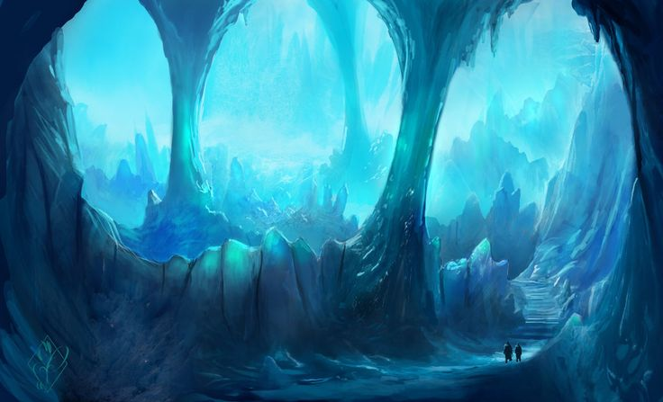 Animated Name Wallpaper Maker Ice Caverns By Jjpeabody On Deviantart The Road Leads