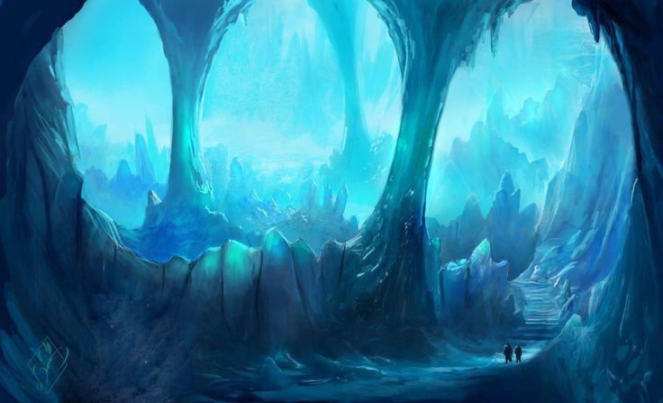 Ice Caverns by jjpeabody on deviantART