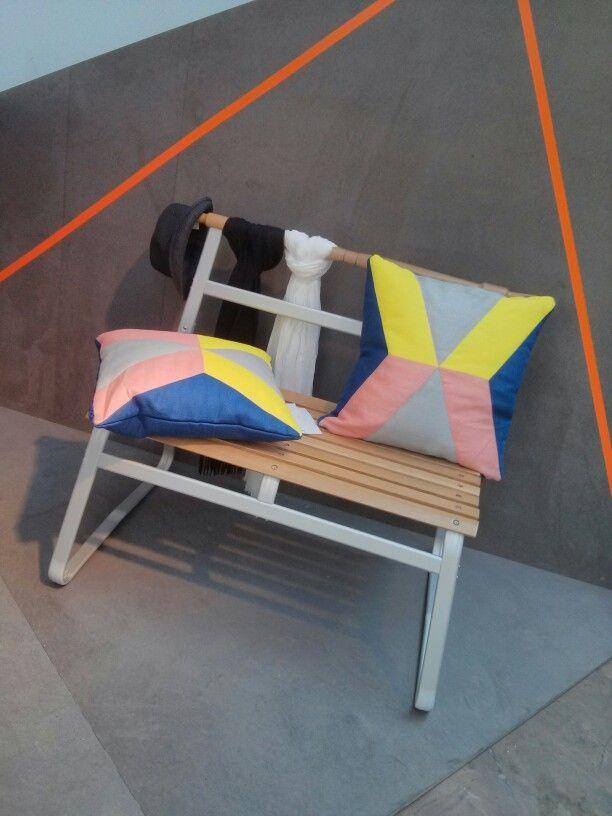 Banc d'inspiration nordique IKEA PS 2014