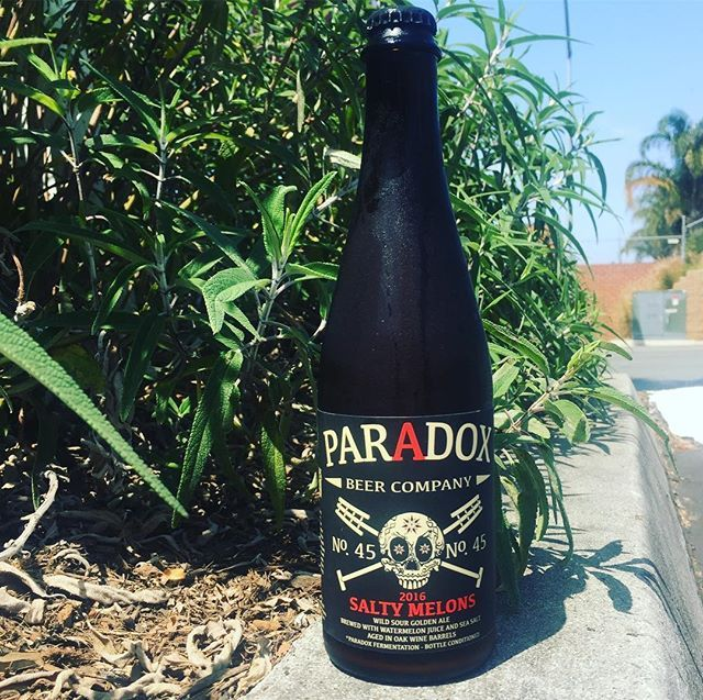 It's going to be another warm one. You know what that means... Salty Melons 🍺😅 @paradoxbeercompany  #Sour #SourBeer #AleTalesSD #AleTales #KnowYourBeer #SanDiego #SanDiegoBeer #LindaVista #DrinkSD #IndieBeer  #DrinkIndieBeer #IndependentBeer #CraftBeer #DrinkCraftBeer #BeerMe #InstaBeer #BeerGram #sandiego #sandiegoconnection #sdlocals #sandiegolocals - posted by Ale Tales https://www.instagram.com/aletalessd. See more San Diego Beer at http://sdconnection.com