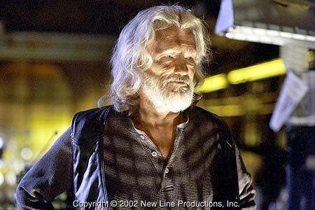"Kris Kristofferson stars as ""Whistler"" in New Line Cinema's action thriller, BLADE II."