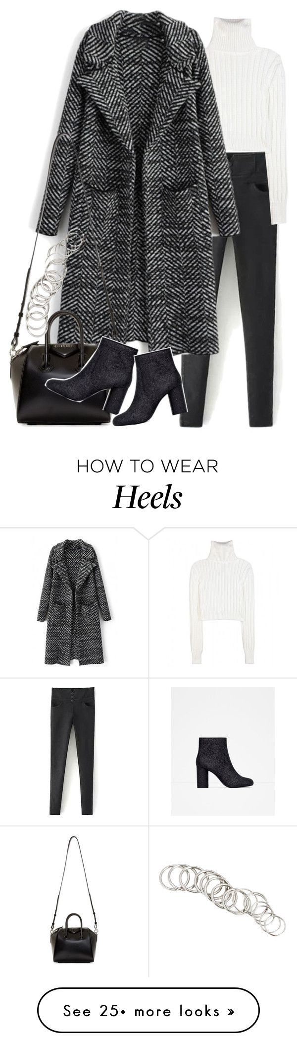 """BeautifulHalo #23"" by nikka-phillips on Polyvore featuring Calvin Klein Collection, Givenchy, Zara, H&M and bhalo"