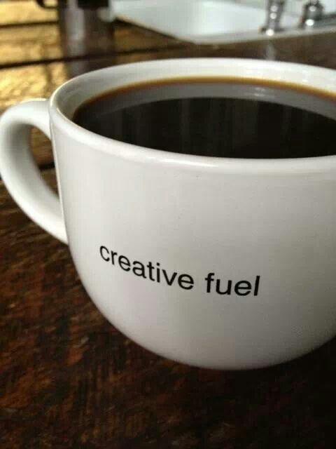 Coffee = creative fuel