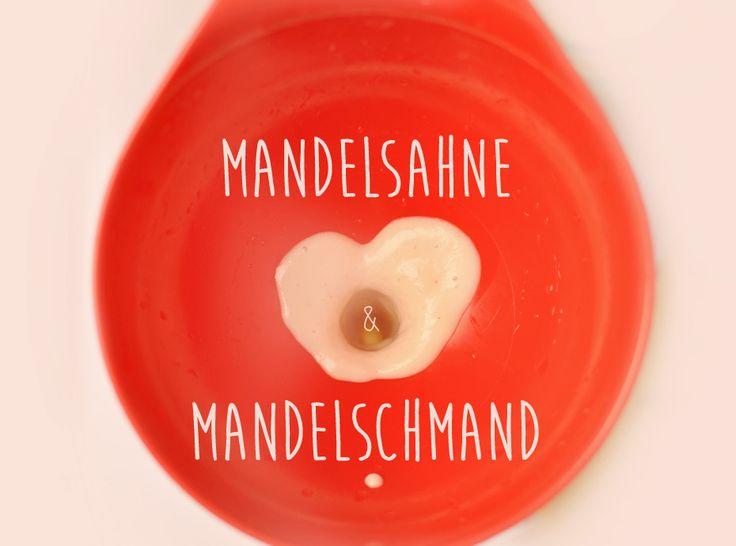 Mandelsahne & Mandelschmand, laktosefrei, ohne Gluten, leicht, WW-geeignet, schmackhaft, einfach selbst gemacht!