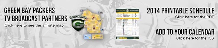2014 Green Bay Packers Schedule