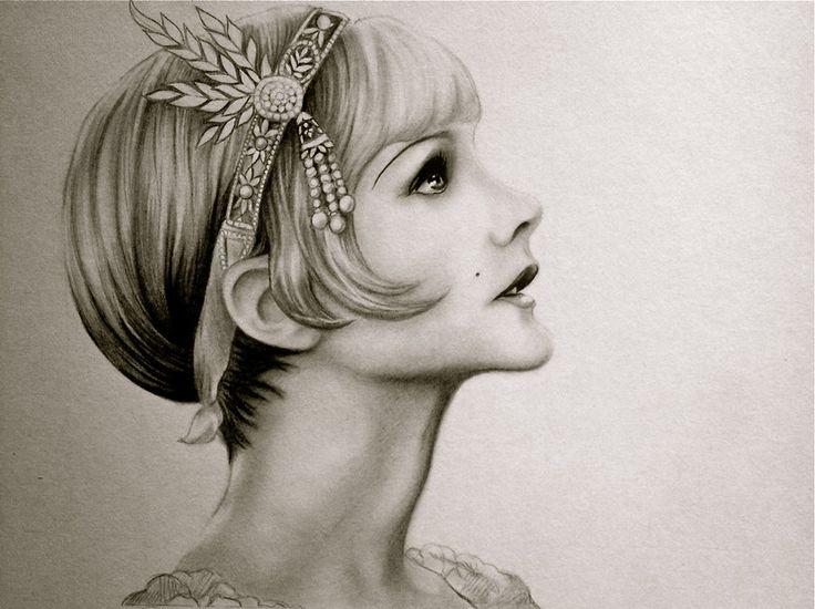Daisy Buchanan by Lauren-Gowler on DeviantArt