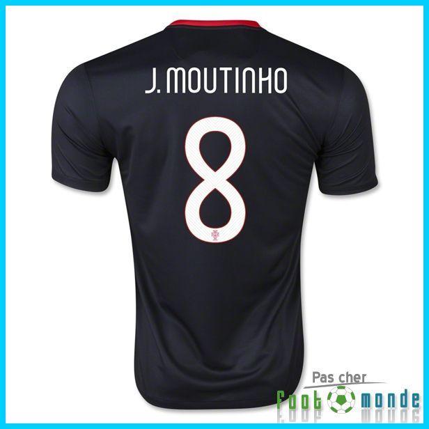 Nouveau Maillot Portugal Euro 2016 J. MOUTINHO 8 Exterieur