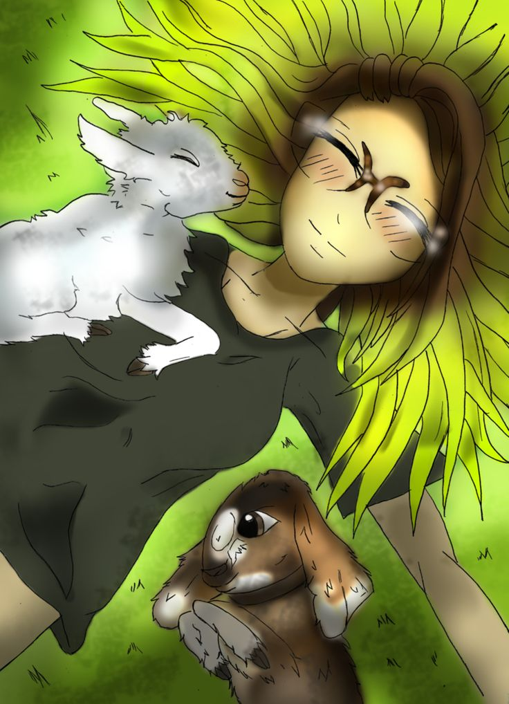Sirena and two lambs by Ccjay25.deviantart.com on @DeviantArt