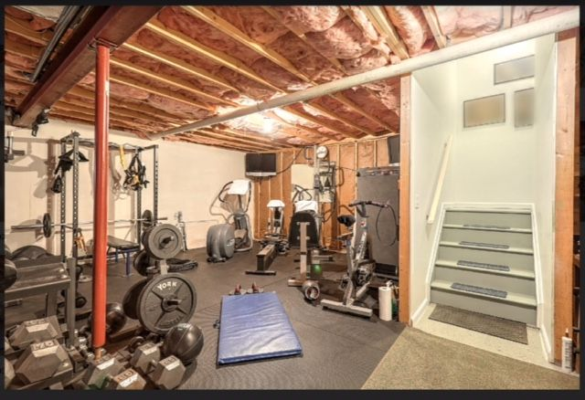Former Pennsylvania State Police Trooper David Hatfield Shows Off Body Solid Gym Hatfield State Police Home Workout Space