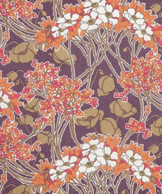 Liberty of London fabric, Hazel B Tana Lawn: Would be so beautiful to use with the Tova top shirt pattern!