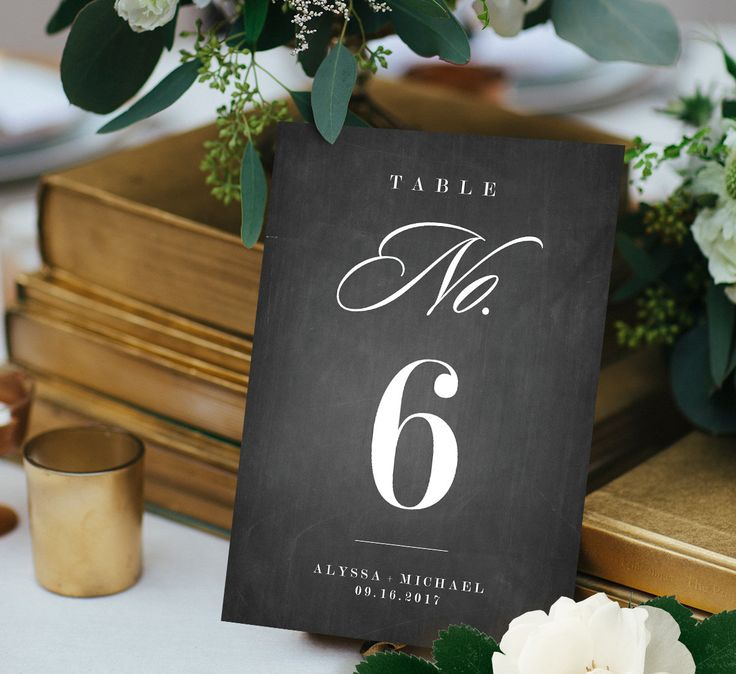 printable wedding place cards vintage%0A Chalkboard Table Number Card Template  Printable Wedding Table Number  DIY Table  Card Template