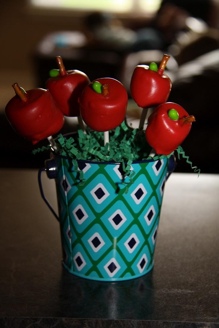 Marshmellow apples