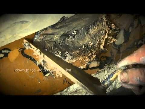 Angel Barrero | Scagliola | Belgian Craftsmanship - YouTube