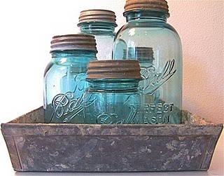 Old canning jars make me so happy