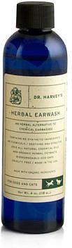 Dr. Harvey's Herbal Dog & Cat Ear Wash, 4-oz bottle