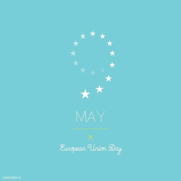 9th May - European Union Day  /// Dzień Unii Europejskiej / by haveasign via behance