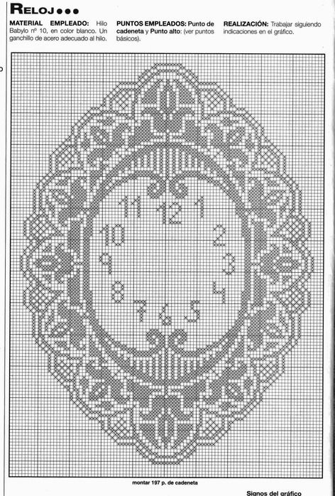 54440673_reloj1 (472x698, 161Kb) free cross stitch clock pattern
