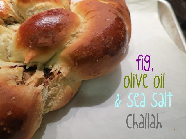 Challah, Figs and Sea salt on Pinterest