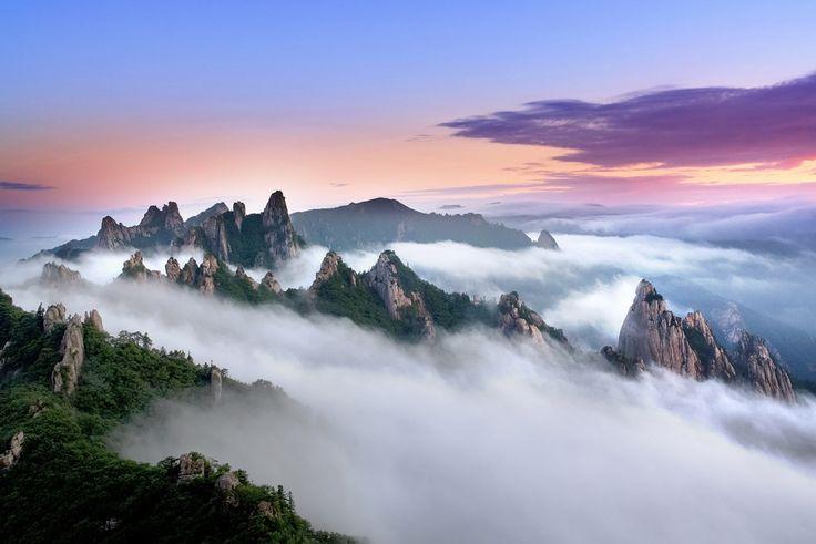 Lugares Fantásticos: Parque Nacional Seoraksan - Coréia do Sul                                                                                                                                                                                 Mais