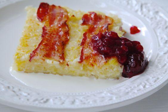 Lufsa med bacon   Jennys Matblogg