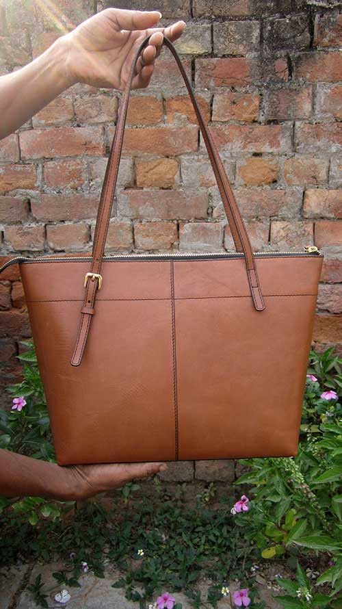 Pumpkin Anabelle, Chiaroscuro, India, Pure Leather, Handbag, Bag, Workshop Made, Leather, Bags, Handmade, Artisanal, Leather Work, Leather Workshop, Fashion, Women's Fashion, Women's Accessories, Accessories, Handcrafted, Made In India, Chiaroscuro Bags - 7