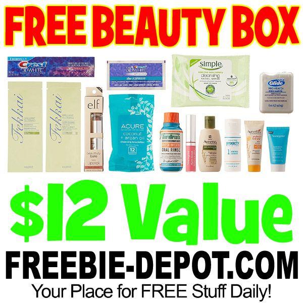 ►► FREE Beauty Sample Box w/ 10+ FREE Samples - $12 Value - LIMITED TIME ►► #Amazon, #Free, #FreeAfterRebate, #FREESample, #FREEStuff, #FREEbate, #Freebie, #Frugal, #Sample, #SampleBox ►► Freebie Depot