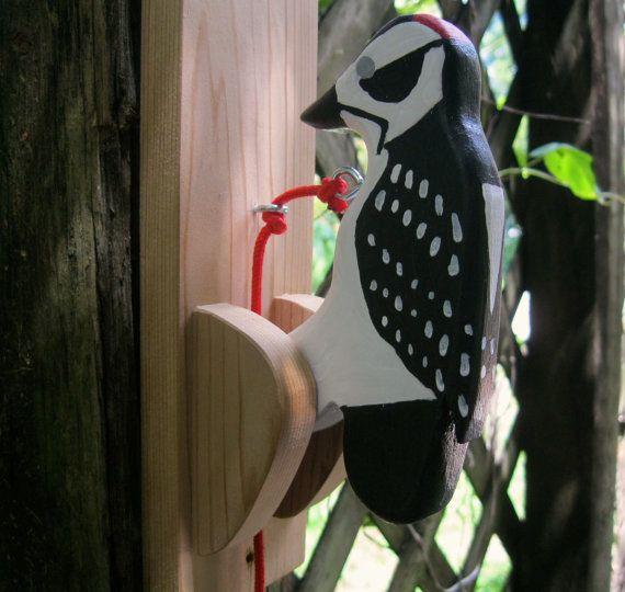 Heurtoir de porte le pic. par NatureWoodcraft sur Etsy