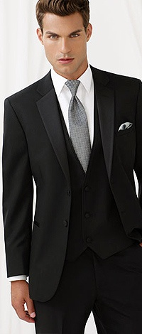 Our new slim-fit tuxedo. In stock now.