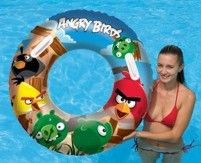 Kruh Bestway  Angry Birds - nafukovací, velký, průměr 91 cm