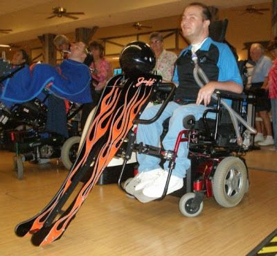 Dating a man in a wheelchair