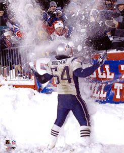 My all time favorite New England Patriot - Tedy Bruschi