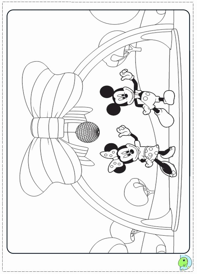 32 Mickey Mouse Clubhouse Coloring Page With Images Coloring
