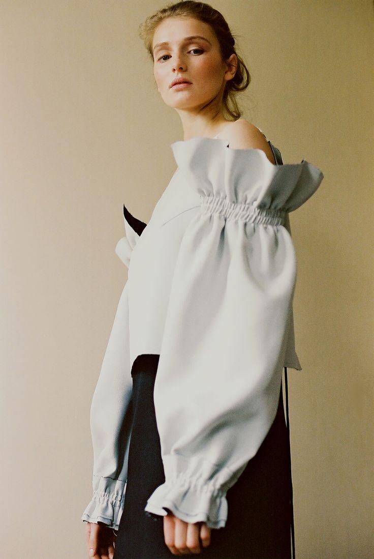 "bienenkiste: "" Saska @ IMG photographed by Masha Mel for The Editorial Magazine """