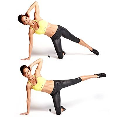 You have got to try #DWTS' #Brooke Burke-Charvet's 1-Minute Workout. Fun fact: SHE HAS 4 KIDS! | health.com