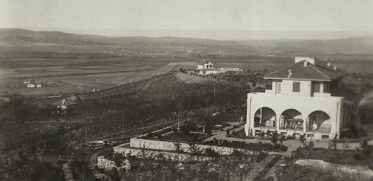Ankara Çankaya köşkü 1937.