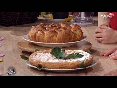 Quel che passa il convento - Trionfo di cornetti alla crema al limone e delizia al limone - YouTube
