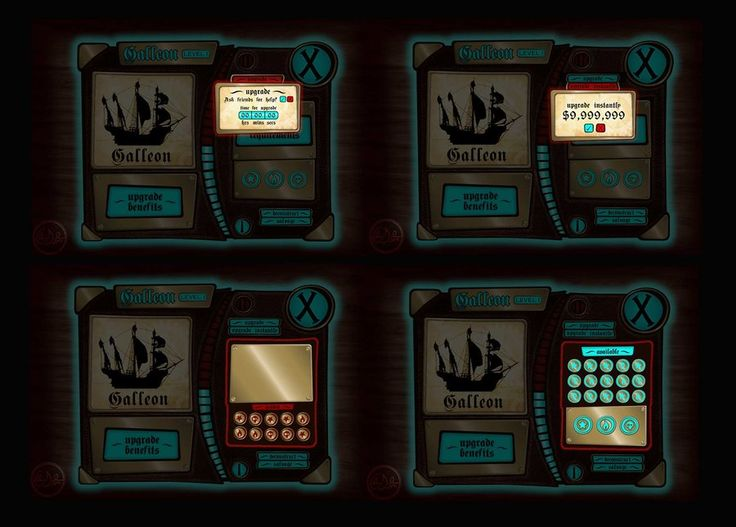 Game UI Design - buttons 1 by ~Neale on deviantART