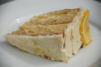 The Beehive Cafe's Lemon Mousse Cake