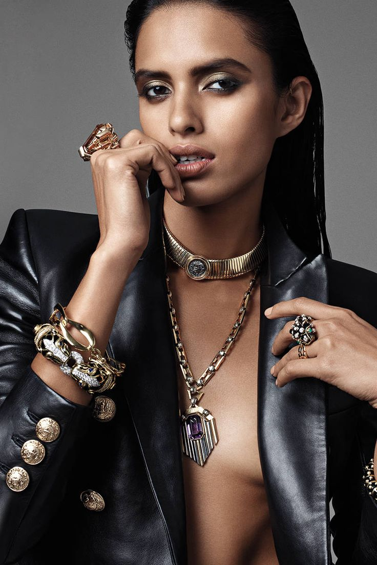 Bold Jewelry - Statement Necklaces, Cuffs, Rings - Elle