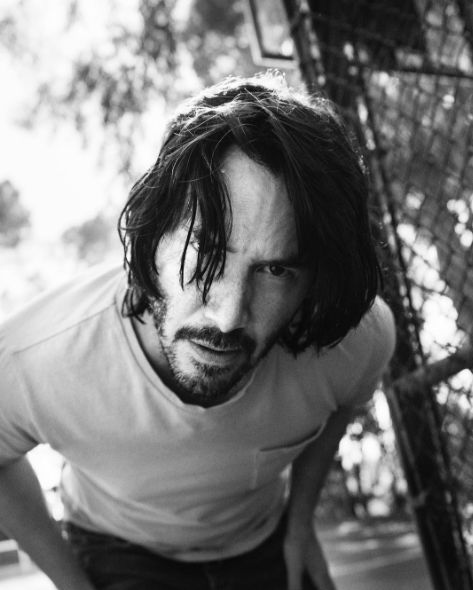 Keanu Reeves photographed by Simon Emmett for Esquire Magazine (March 2017)