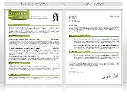 CV Template by CVspecial, via Flickr