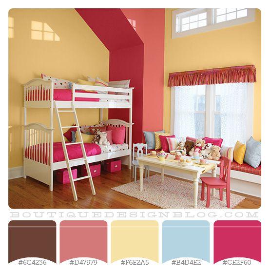 Kids Bedroom Wall Decor Bedroom Designs Latest Bedroom Ideas For Quadruplets Bedroom Blue Carpet: 17 Best Images About Paint Palettes On Pinterest