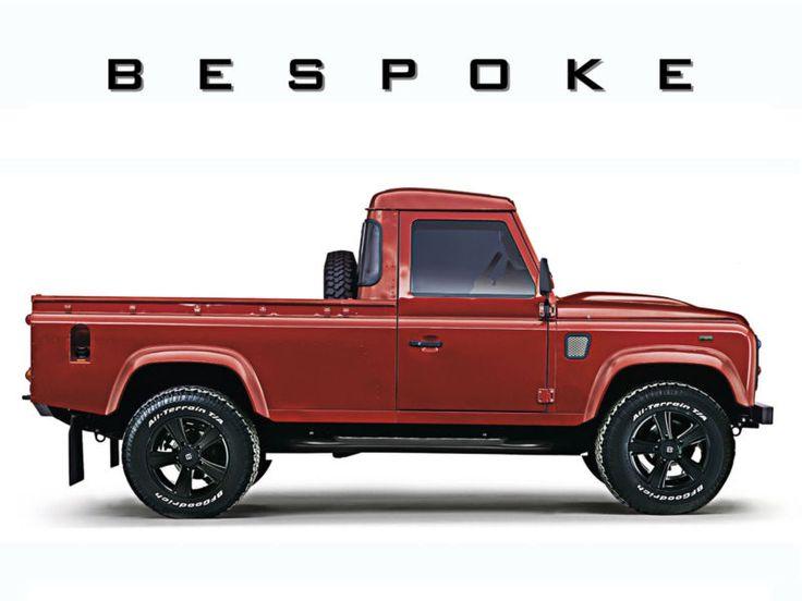 Bespoke Land Rover Defender 110 Elements Pick Up
