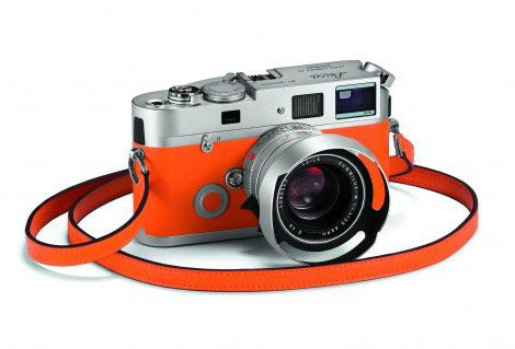 Leica Hermes M7 camera orange